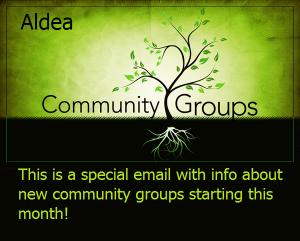 aldea community groups
