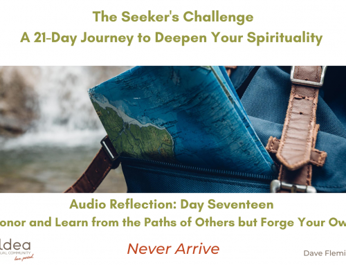 The Seeker's Challenge – Day Seventeen: Honor and Learn from the Paths of Others but Forge Your Own